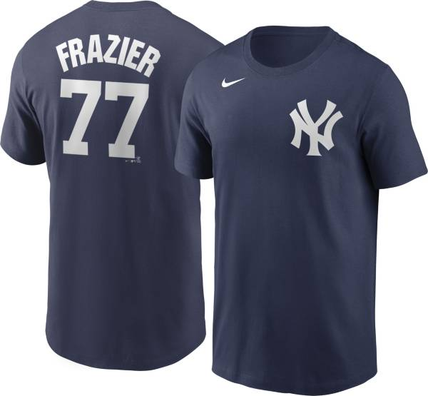 Nike Men's New York Yankees Clint Frazier #77 Blue T-Shirt product image