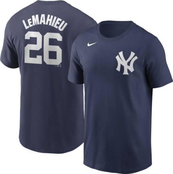 Nike Men's New York Yankees DJ LeMahieu #26 Navy T-Shirt product image