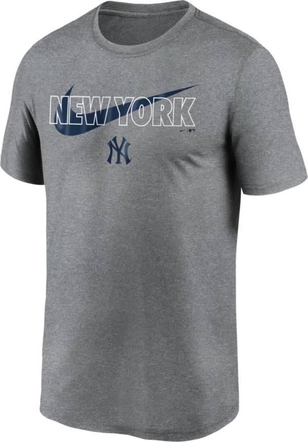 Nike Men's New York Yankees Navy Swoosh Legend T-Shirt product image
