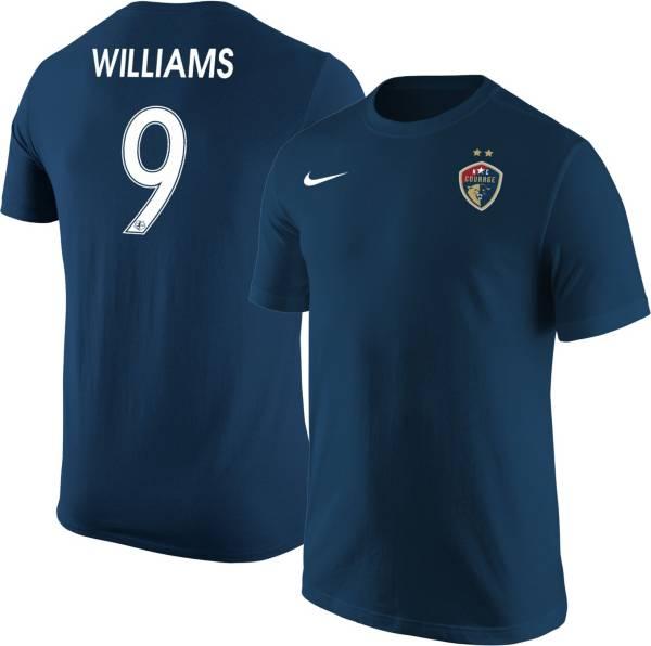 Nike North Carolina Courage Lynn Williams #9 Navy T-Shirt product image