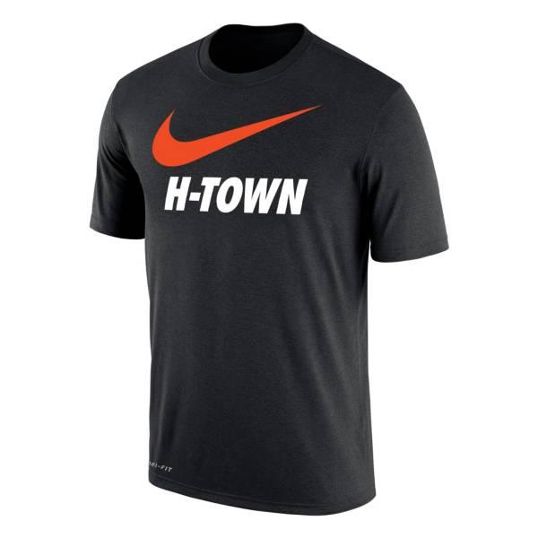 Nike Houston Dash Swoosh Black T-Shirt product image