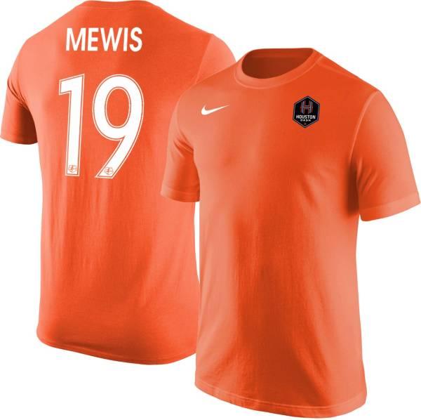 Nike Houston Dash Kristie Mewis #19 Orange T-Shirt product image