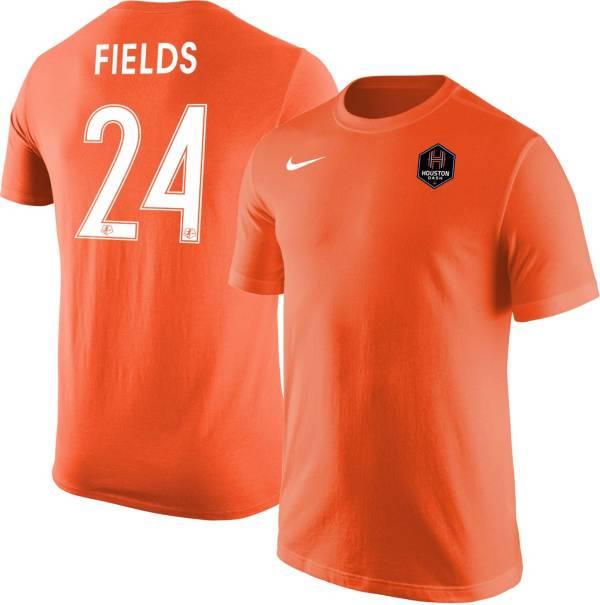 Nike Houston Dash Jamia Fields #24 Orange T-Shirt product image