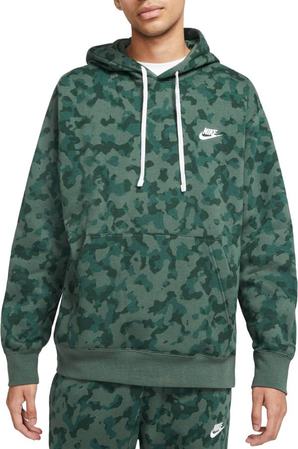 Nike Men's Sportswear Club Camo Hoodie product image