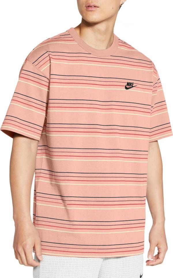 Nike Men's Sportswear Premium Striped T-Shirt product image