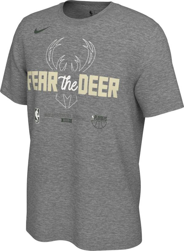 Nike Men's Mikwaukee Bucks 2021 Playoffs Mantra T-Shirt product image