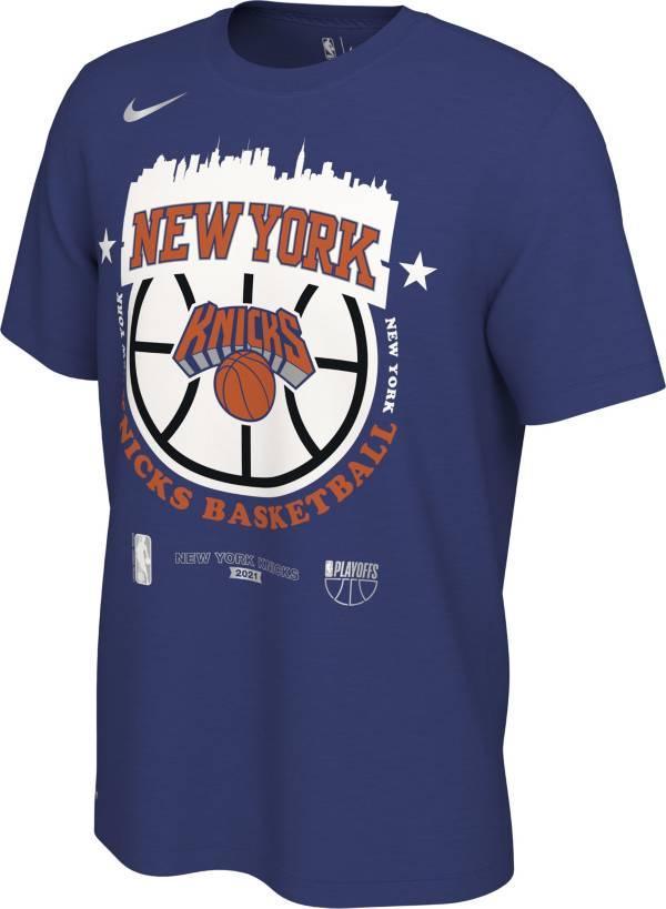 Nike Men's New York Knicks 2021 Playoffs City T-Shirt product image