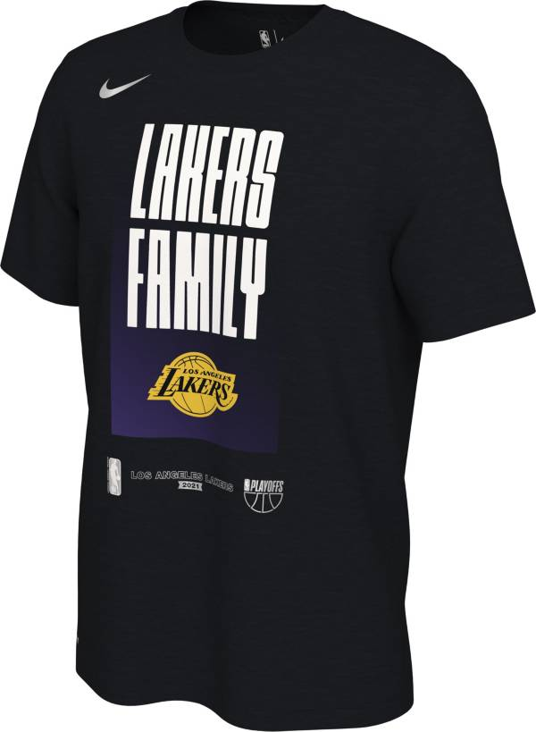 Nike Men's Los Angeles Lakers 2021 Playoffs Mantra T-Shirt product image