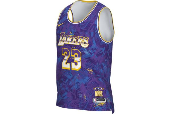 Nike Men's Los Angeles Lakers LeBron James MVP Select Series Jersey product image