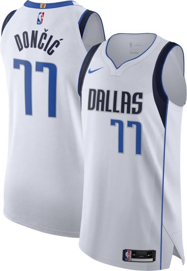 Nike Men's Dallas Mavericks Luka Doncic White Association Jersey product image