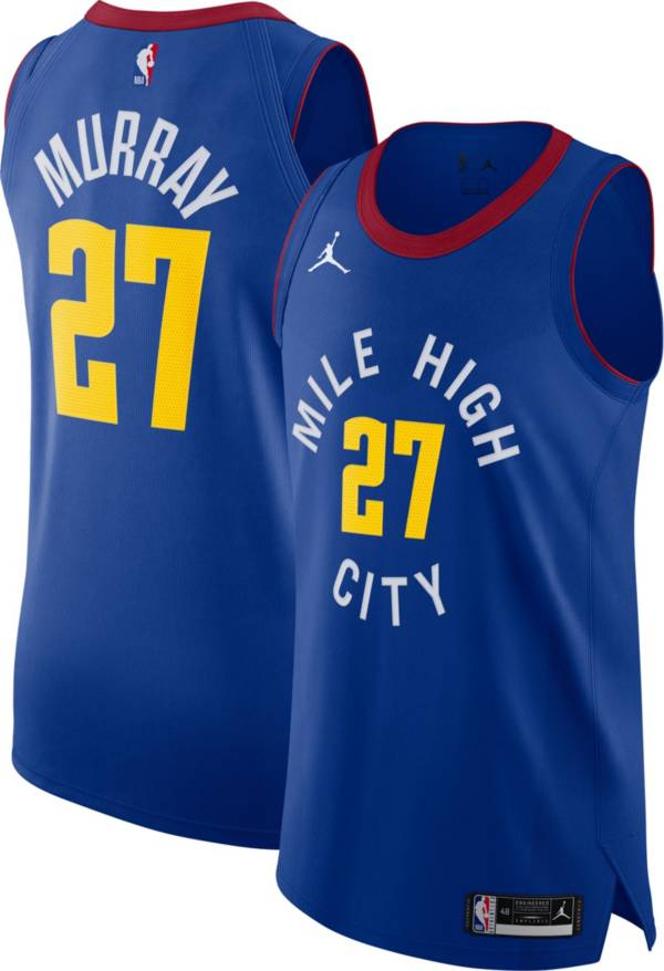 Nike Men's Denver Nuggets Jamal Murray Royal Blue Statement Jersey product image