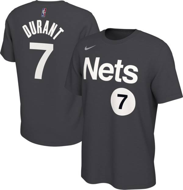 Nike Men's 2021 Earned Edition Brooklyn Nets Kevin Durant T-Shirt product image