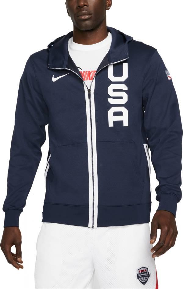 Nike USA Navy Therma Flex Full-Zip Hoodie product image