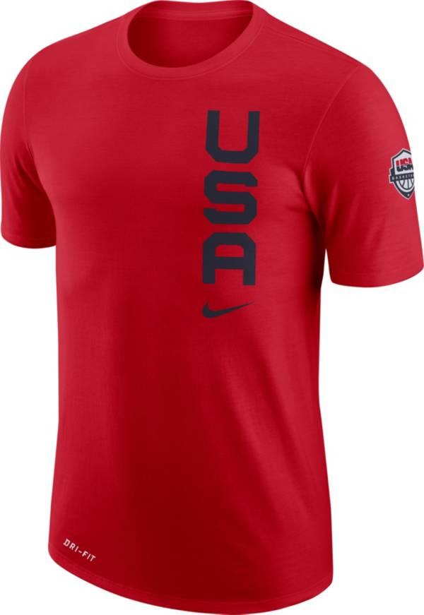 Nike USA Red Dri-FIT T-Shirt product image