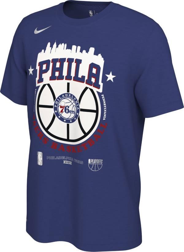 Nike Men's Philadelphia 76ers 2021 Playoffs City T-Shirt product image