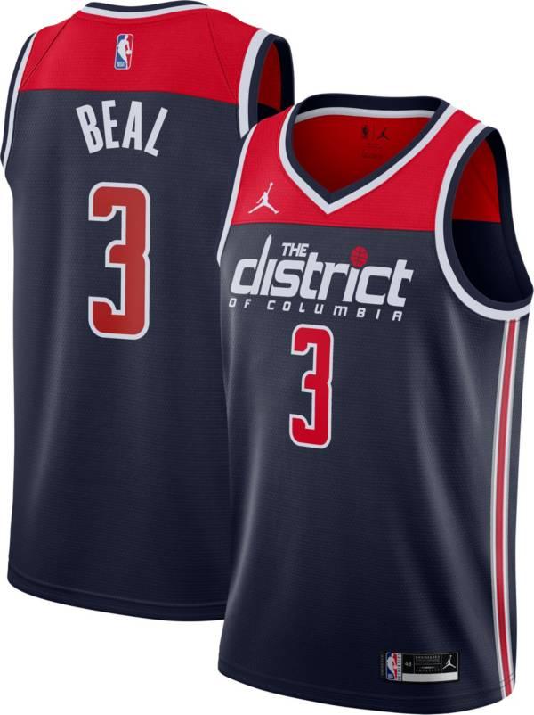 Nike Men's Washington Wizards Bradley Beal Navy Statement Jersey product image
