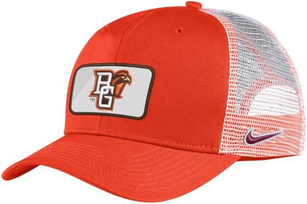 Nike Men's Bowling Green Falcons Orange Classic99 Trucker Hat product image