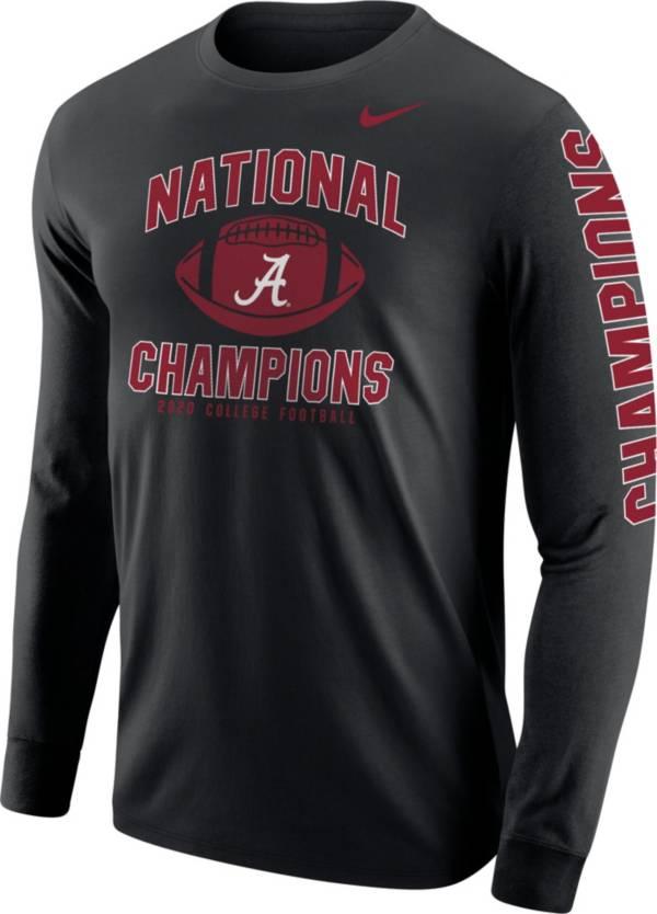 Nike Men's 2020 National Champions Alabama Crimson Tide Long Sleeve T-Shirt product image