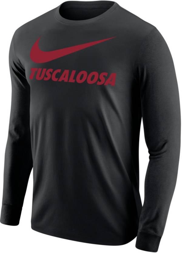 Nike Men's Tuscaloosa City Long Sleeve Black T-Shirt product image