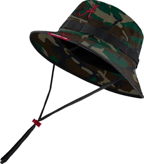Nike Men's Alabama Crimson Tide Camo Dri-FIT Football Sideline Bucket Hat product image
