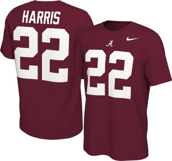 Nike Men's Alabama Crimson Tide Najee Harris #22 Crimson Football Jersey T-Shirt product image