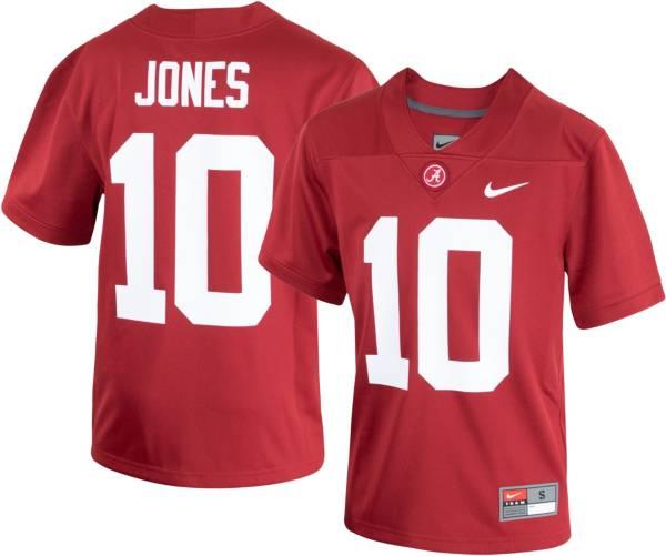 Nike Men's Alabama Crimson Tide Mac Jones #10 Crimson Dri-FIT Game Football Jersey product image