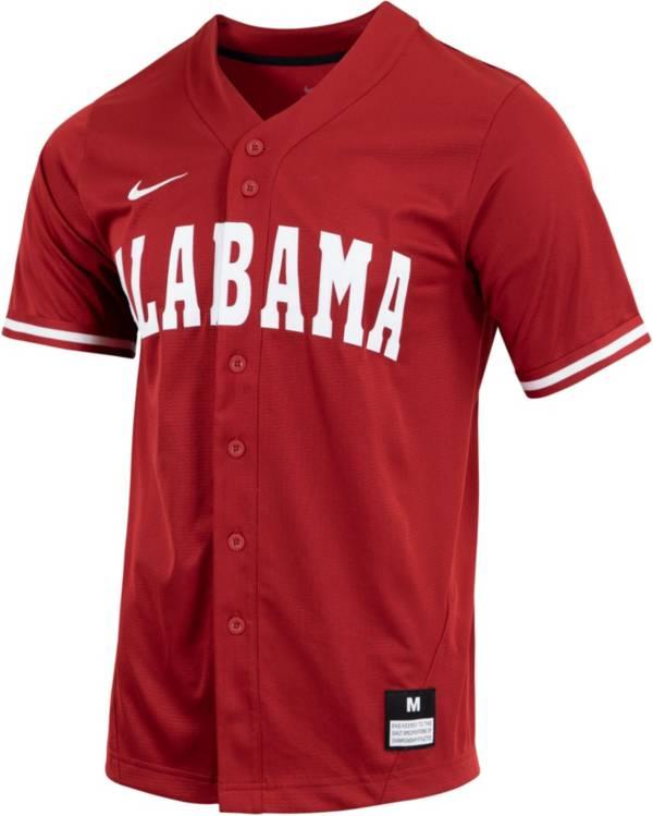 Nike Men's Alabama Crimson Tide Crimson Dri-FIT Replica Baseball Jersey product image