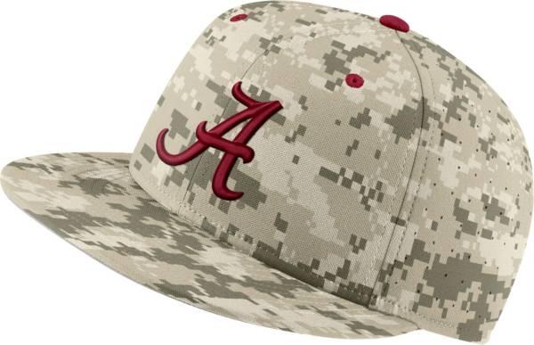 Nike Men's Alabama Crimson Tide Camo Fitted Baseball Hat product image