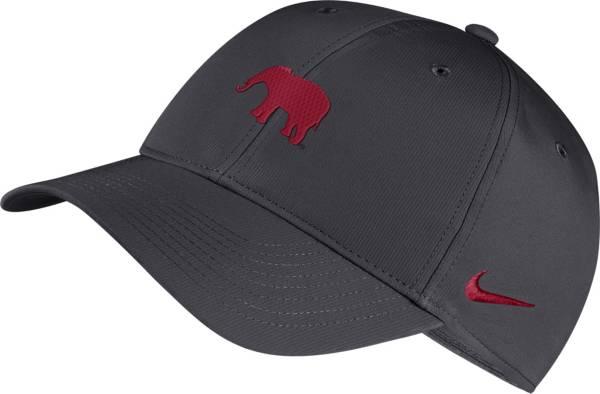 Nike Men's Alabama Crimson Tide Grey Legacy91 Adjustable Hat product image