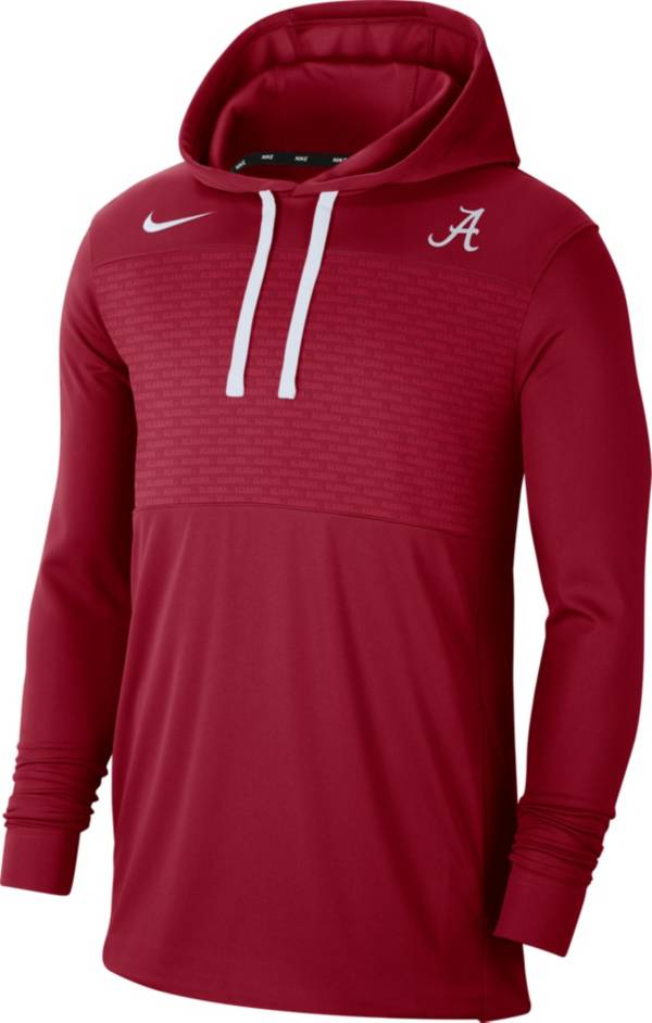 Nike Men's Alabama Crimson Tide Crimson Lightweight Pullover Hoodie product image