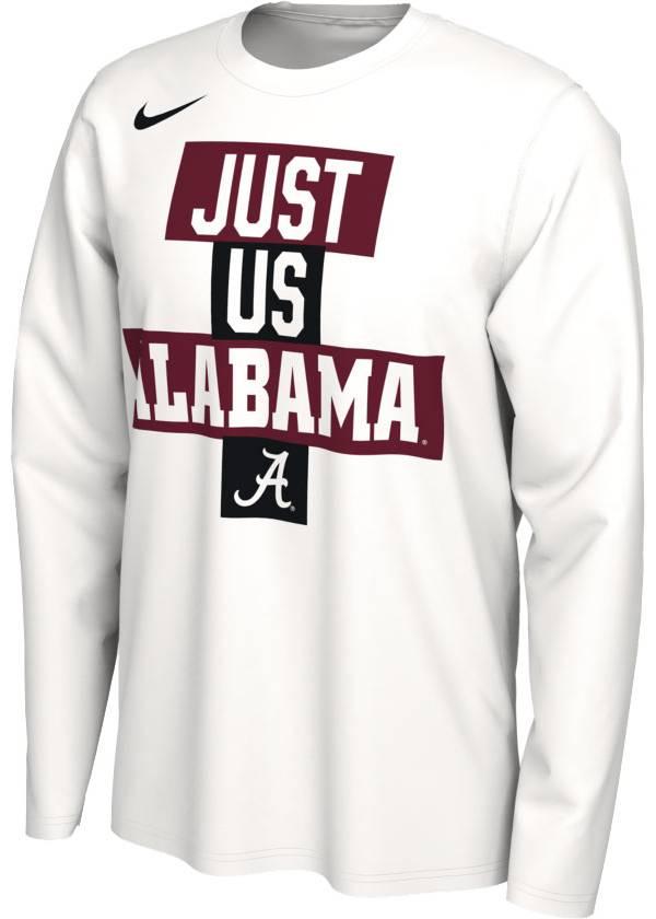 Nike Men's Alabama Crimson Tide 'Just Us' Bench Long Sleeve T-Shirt product image