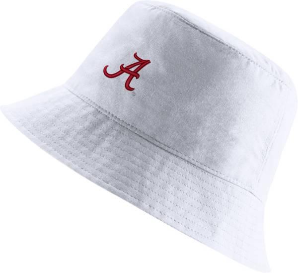 Nike Men's Alabama Crimson Tide Core Bucket White Hat product image