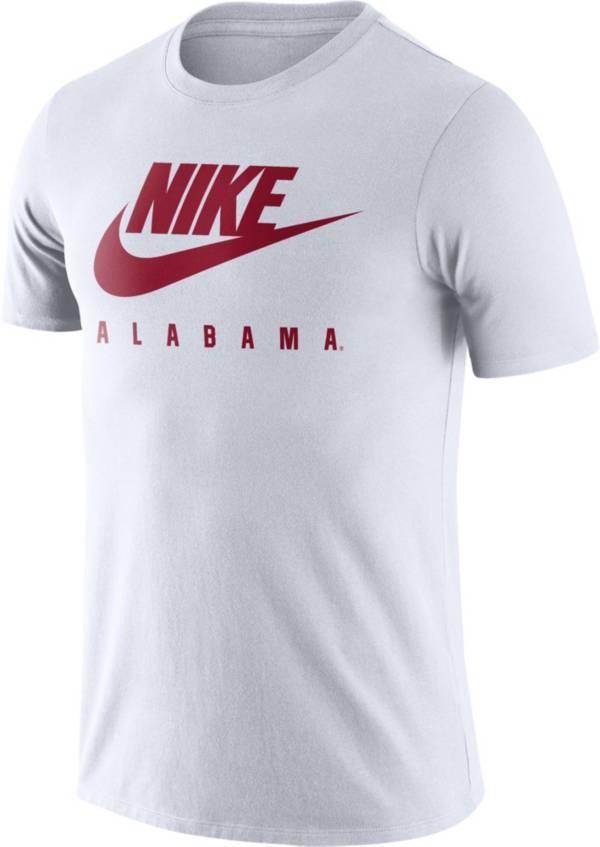 Nike Men's Alabama Crimson Tide White Futura T-Shirt product image