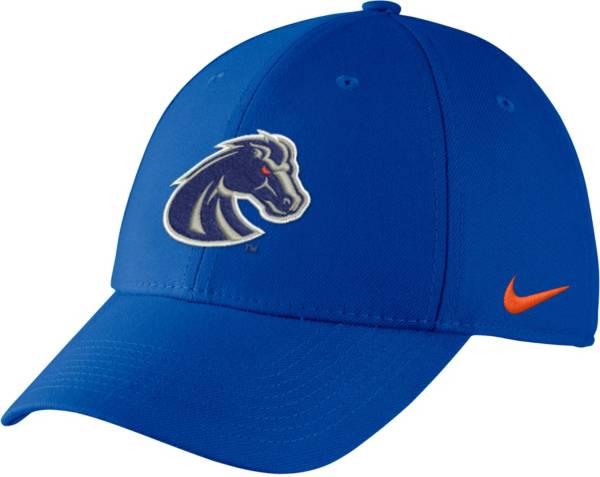 Nike Men's Boise State Broncos Blue Swoosh Flex Hat product image