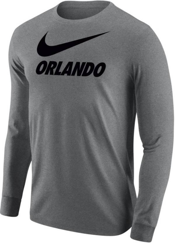 Nike Men's Orlando Grey City Long Sleeve T-Shirt product image