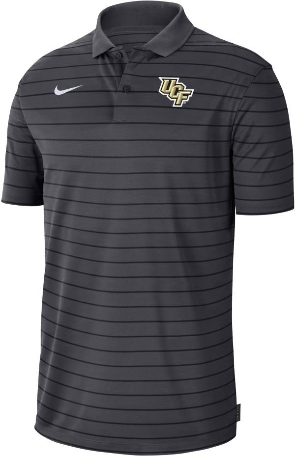 Nike Men's UCF Knights Grey Football Sideline Victory Polo product image