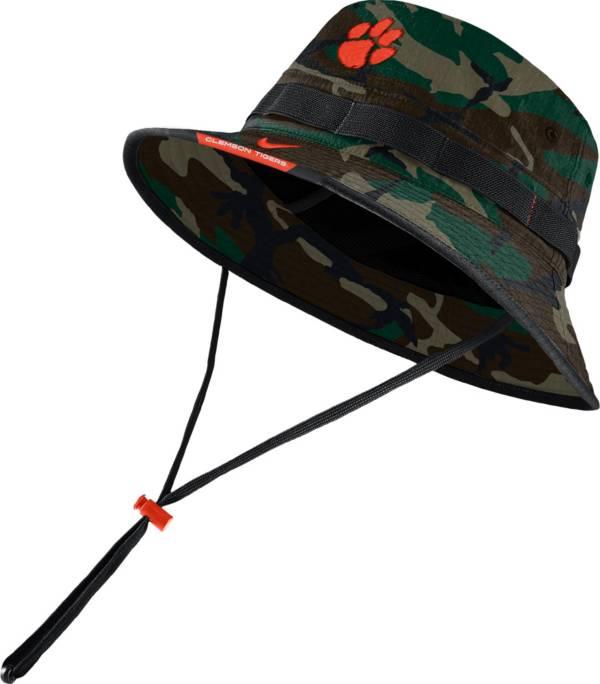 Nike Men's Clemson Tigers Camo Dri-FIT Football Sideline Bucket Hat product image