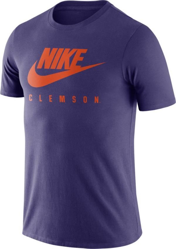 Nike Men's Clemson Tigers Regalia Futura T-Shirt product image