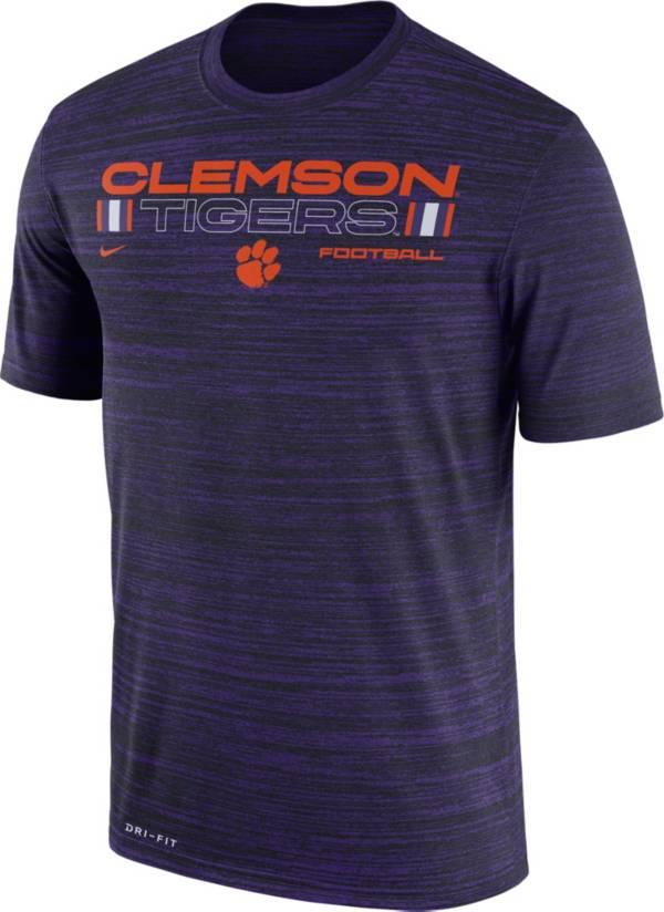Nike Men's Clemson Tigers Regalia Velocity Legend Football T-Shirt product image