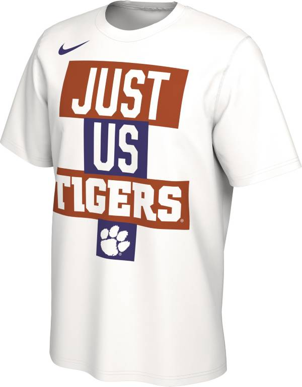 Nike Men's Clemson Tigers 'Just Us' Bench T-Shirt product image