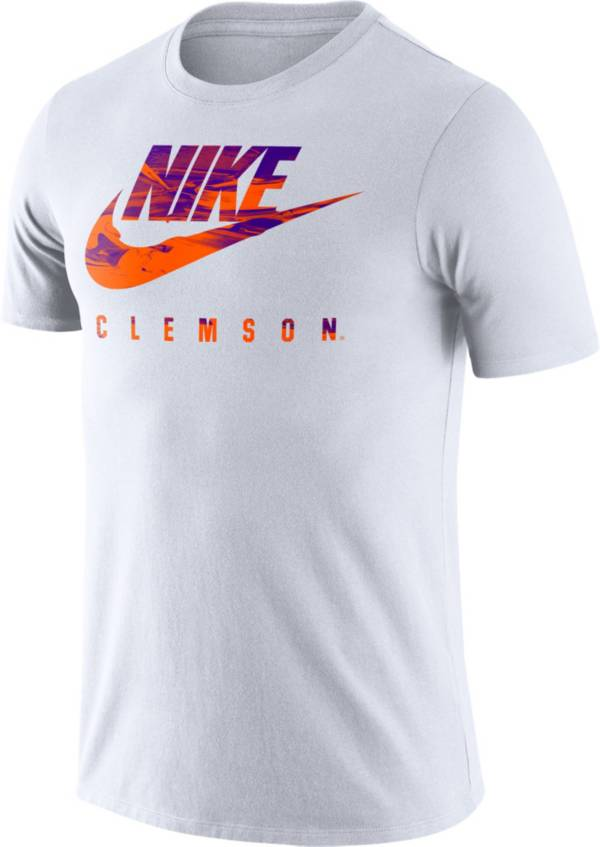 Nike Men's Clemson Tigers Spring Break White T-Shirt product image