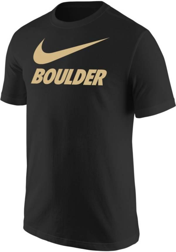 Nike Men's Boulder City Black T-Shirt product image