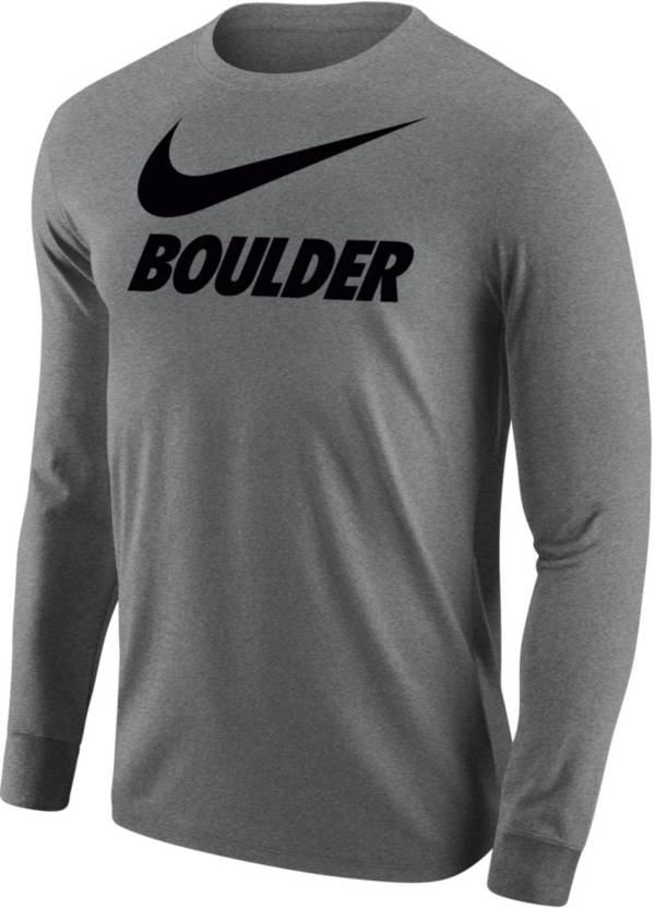 Nike Men's Boulder Grey City Long Sleeve T-Shirt product image