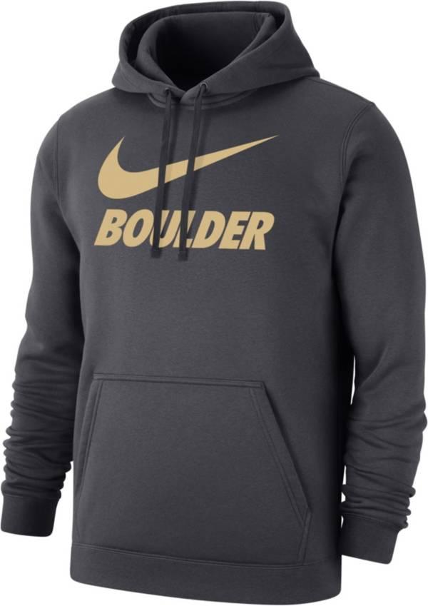Nike Men's Boulder Grey City Pullover Hoodie product image