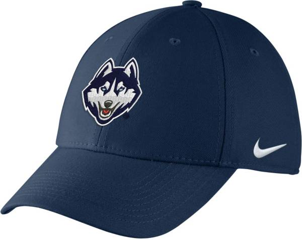 Nike Men's UConn Huskies Blue Swoosh Flex Hat product image