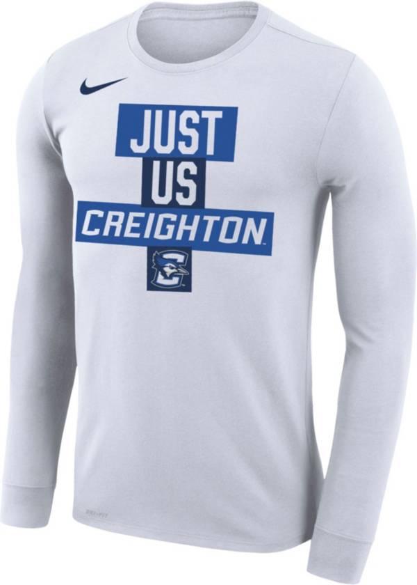 Nike Men's Creighton Bluejays 'Just Us' Bench Long Sleeve T-Shirt product image