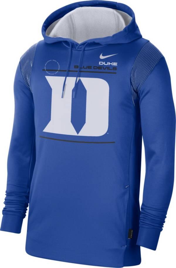 Nike Men's Duke Blue Devils Duke Blue Therma Performance Pullover Hoodie product image