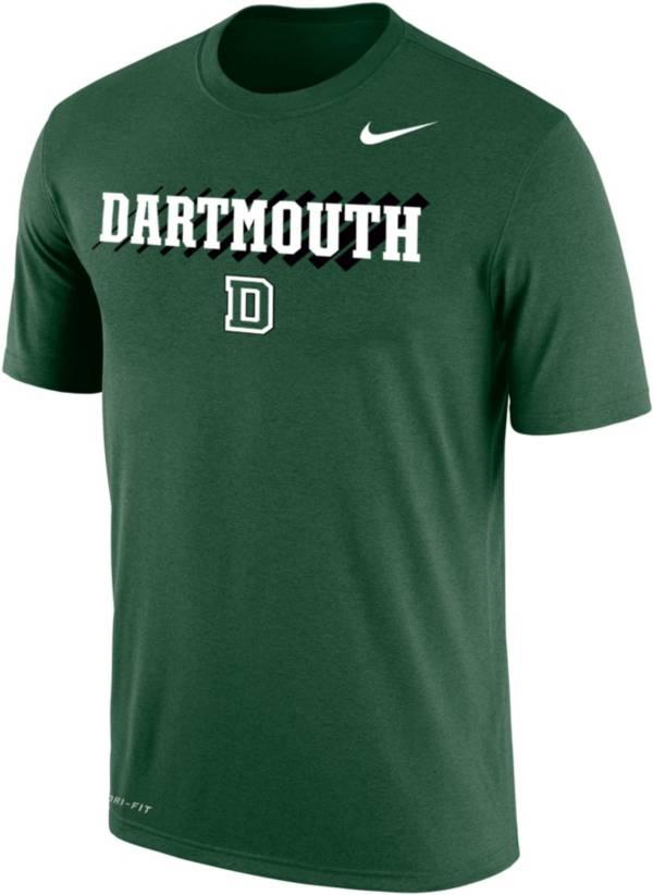 Nike Men's Dartmouth Big Green Dartmouth Green Dri-FIT Cotton T-Shirt product image