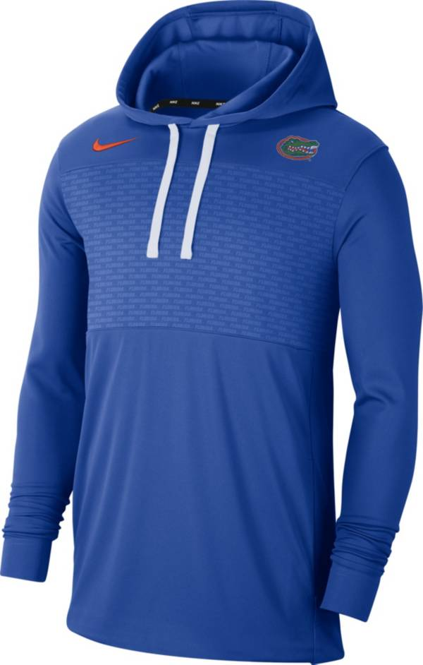 Nike Men's Florida Gators Blue Lightweight Pullover Hoodie product image