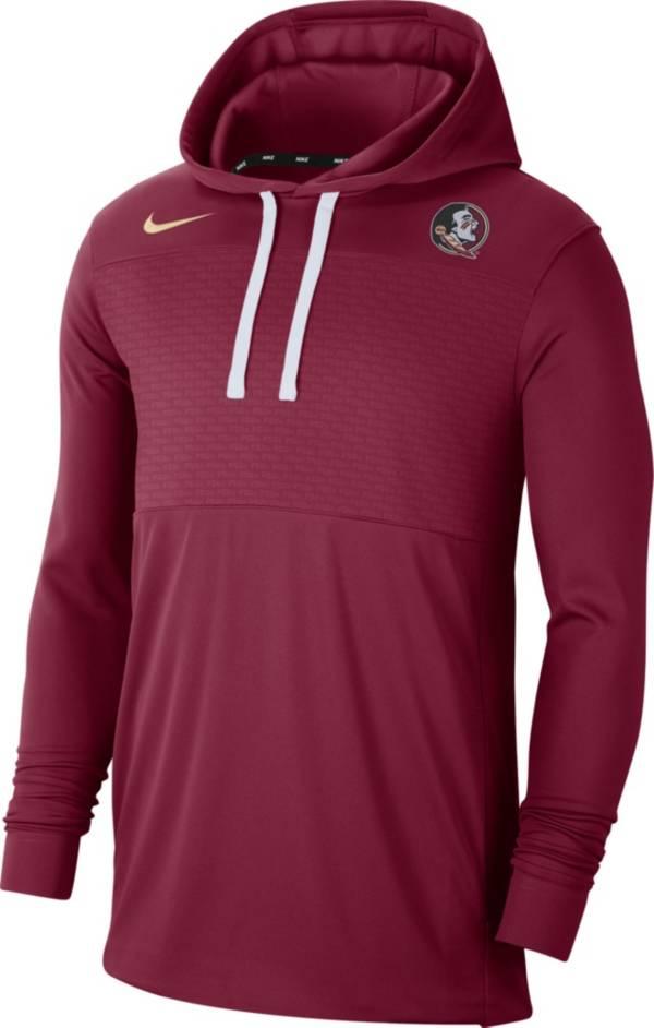 Nike Men's Florida State Seminoles Garnet Lightweight Pullover Hoodie product image